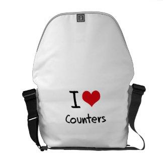 Liebe I Zähler Kurier Tasche