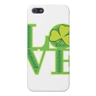 Liebe ich, bin ich irisch iPhone 5 etui