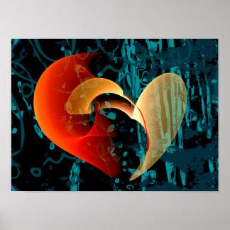 Liebe ich Brago-Mitchell feine Fraktal-Kunst Poster