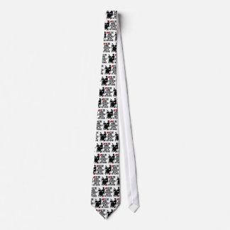 Liebe ich einige Küken mit Stöcken Krawatte