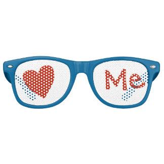Liebe ich retro sonnenbrillen