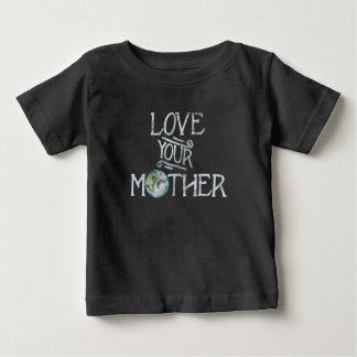 Liebe Ihr Muttererdtag Baby T-shirt