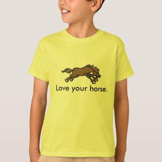 Liebe Ihr Pferd T-Shirt