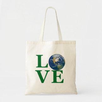 Liebe Ihre Erde Budget Stoffbeutel