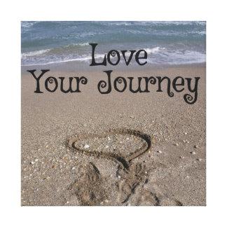 Liebe Ihre Reise Leinwanddruck