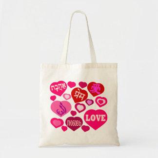 Liebe in den verschiedenen Sprachen Tasche