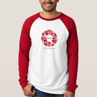 Liebe in der Aktion Jersey T-Shirt