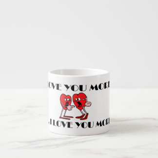 """""""Liebe in der Luft"""" Espresso-Tasse Espressotasse"""