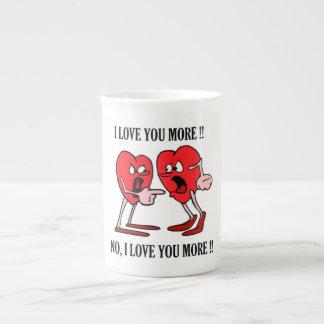 """""""Liebe in der Luft"""" Knochen-China-Tasse Porzellantasse"""