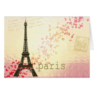 Liebe in Paris Karte