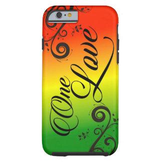 Liebe iPhone 6 Fall Rasta Reggae-einer Tough iPhone 6 Hülle