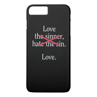 Liebe iPhone 8 Plus/7 Plus Hülle