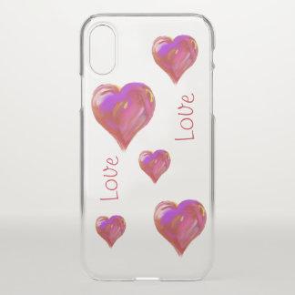 Liebe iPhone X Hülle