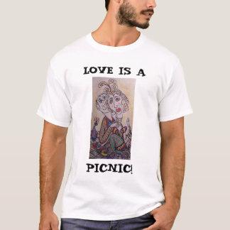 LIEBE IST A, PICKNICK! T-Shirt
