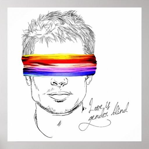 Liebe ist das blinde Geschlecht Plakat