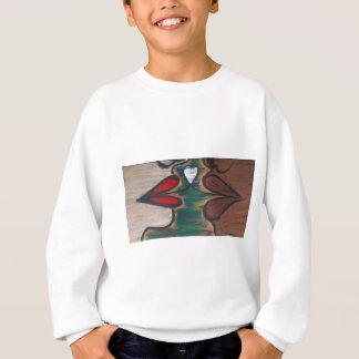 Liebe ist die blinde Farbe Sweatshirt
