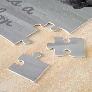Liebe ist ein Labrador gegenüberstellen Puzzle