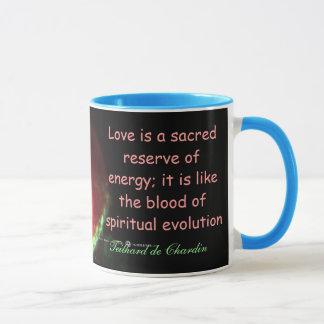 Liebe ist heilige Tasse