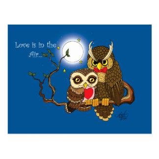 Liebe ist in der Luft Postkarte