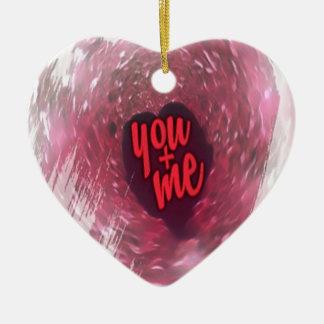 Liebe ist in der Luft-Sammlung Keramik Ornament