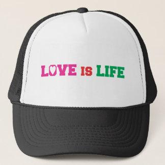 Liebe ist Leben Truckerkappe