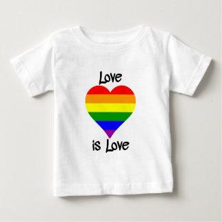 Liebe ist Liebe Baby T-shirt