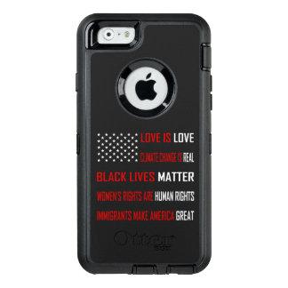 Liebe ist Liebe-iPhone u. Samsung Otterbox Fall OtterBox iPhone 6/6s Hülle