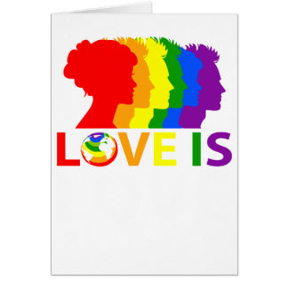 Liebe ist Liebe Karte