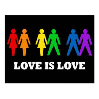 Liebe ist Liebe Postkarten
