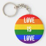 Liebe ist Liebe Schlüsselbänder