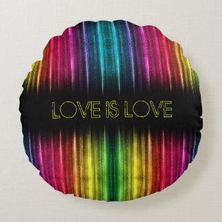 Liebe ist Lieberundes Throw-Kissen Rundes Kissen