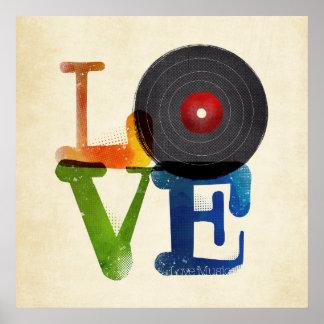 Liebe ist Musik Poster