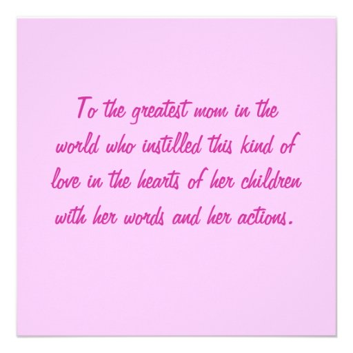 Liebe ist nette quadratische Karte Individuelle Ankündigung