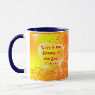 Liebe ist Schönheits-Tasse Tasse