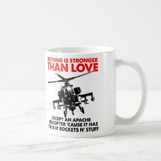 Liebe ist starke lustige Tasse