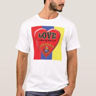 Liebe ist Venezuela-T - Shirt