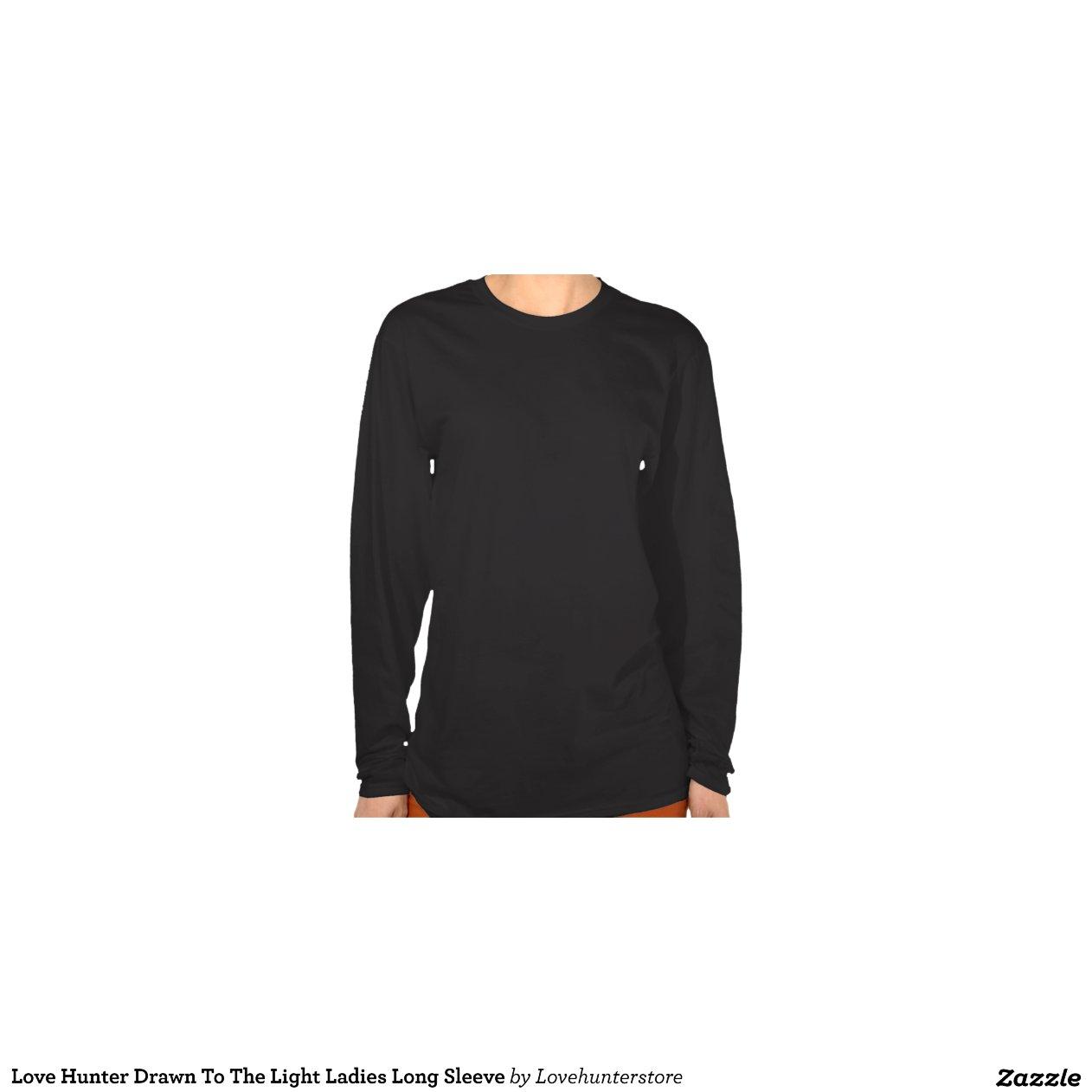 liebe j ger gezeichnet zur helle damen langen shirt zazzle. Black Bedroom Furniture Sets. Home Design Ideas