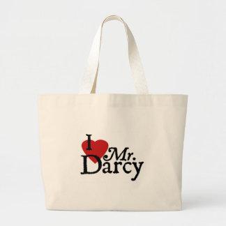 LIEBE Janes Austen I Herr Darcy Leinentasche