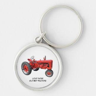 Liebe jene altes rotes Traktoren keychain Schlüsselanhänger