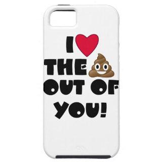 Liebe kacken Emoji Hülle Fürs iPhone 5