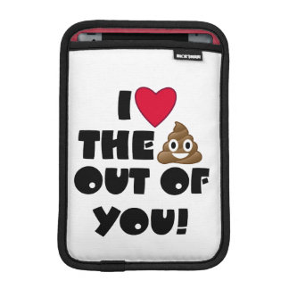 Liebe kacken Emoji Sleeve Für iPad Mini
