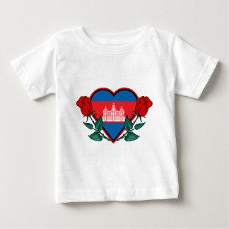 Liebe Kambodscha Baby T-shirt