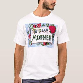 Liebe Karte der Mutter-Frühlings-Blumen-Mutter T-Shirt