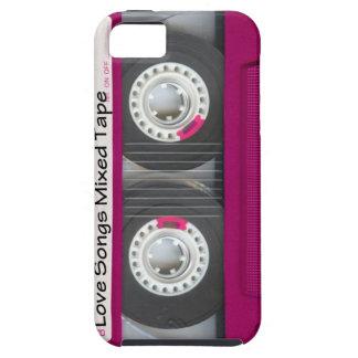 Liebe-Kassetten-Band iPhone 5 Schutzhüllen