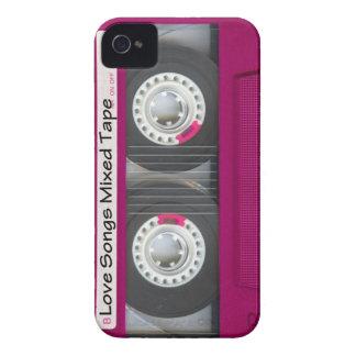 Liebe-Kassetten-Band iPhone 4 Case-Mate Hülle