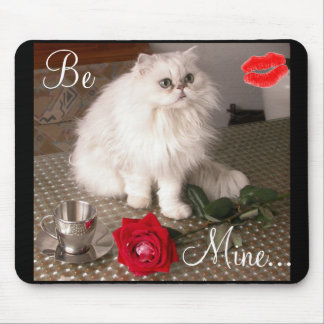 Liebe-Katze II Mousepad - kundengerecht
