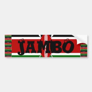 Liebe Kenia Kenias Hakuna Matata und I Autoaufkleber