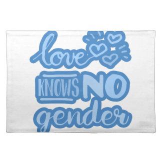 Liebe kennt kein Geschlecht Tischset