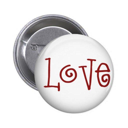 Liebe-Knopf Buttons