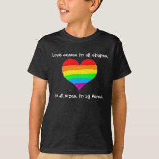 Liebe kommt in alle Formen T-Shirt
